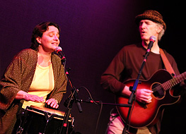 Karen and pete-Vancouver Folk Fest